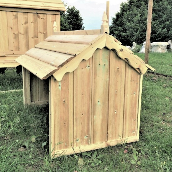 Orchard Chicken Shelter