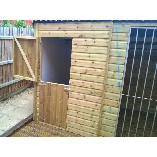 The Montgomery Large Dog Kennel – 8ft